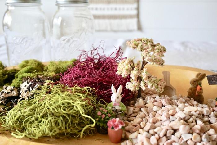 matériaux nécessaire pour faire un nid de pâques