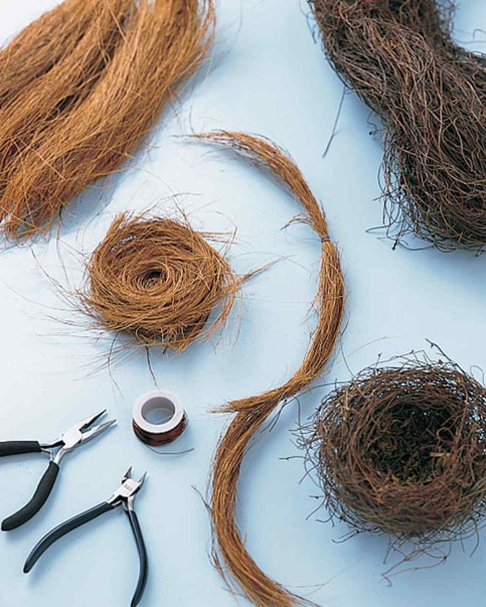 matériaux nid de pâques