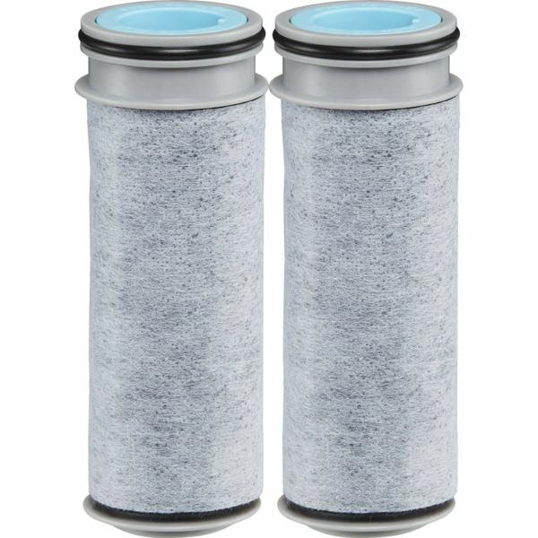 microplastique dans l'eau filtre