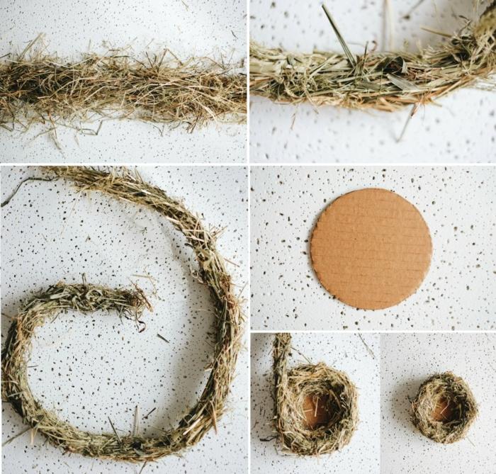 nid de pâques comment fabriquer