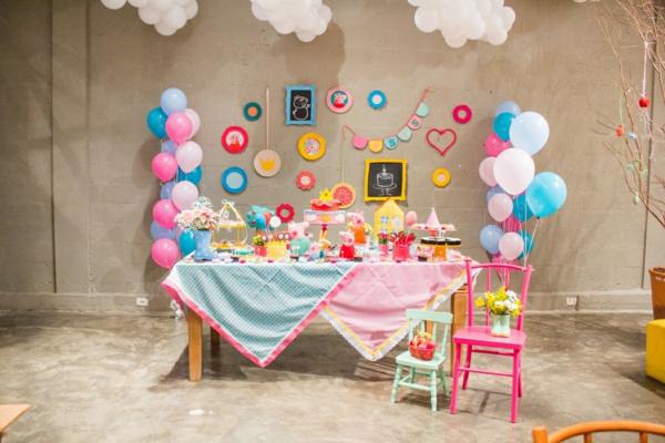 organisation de fête enfant déco anniversaire peppa pig