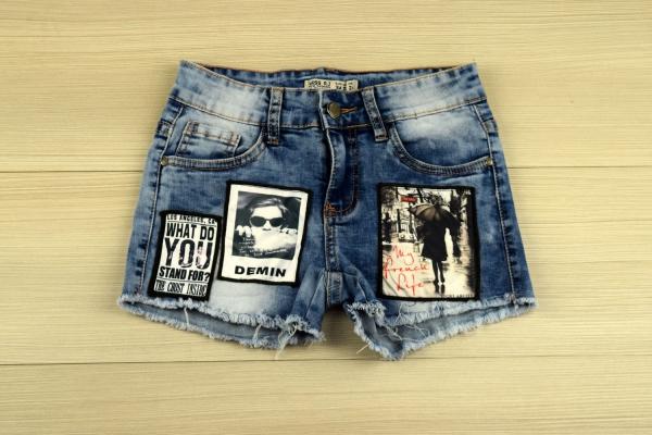 vêtement personnalisé des applications aux shorts
