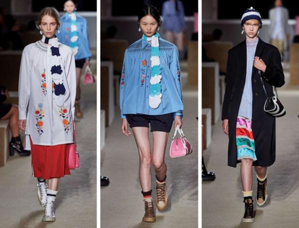 vêtement personnalisé un défilé de mode