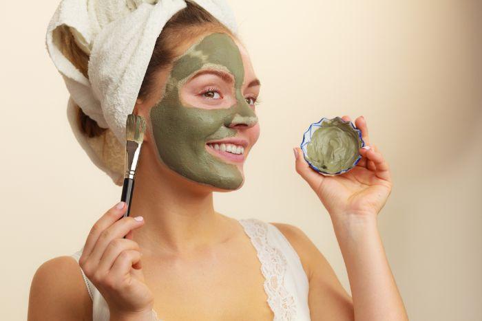 bienfaits argile verte masque visage