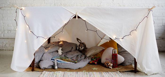 cabane intérieur enfant