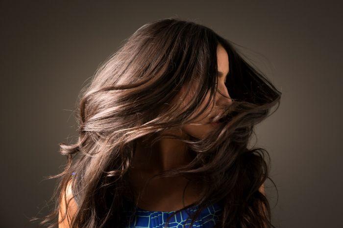 cheveux brillants argile verte