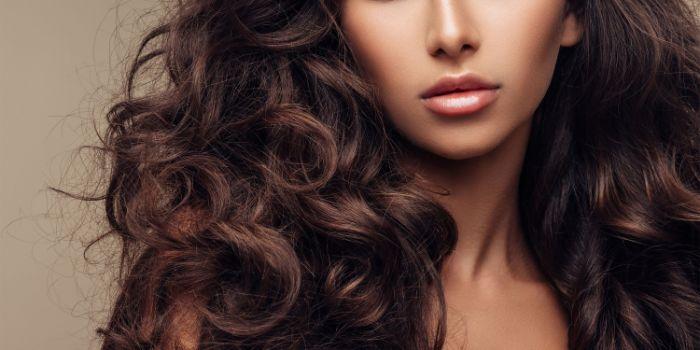 cheveux en bonne santé argile verte