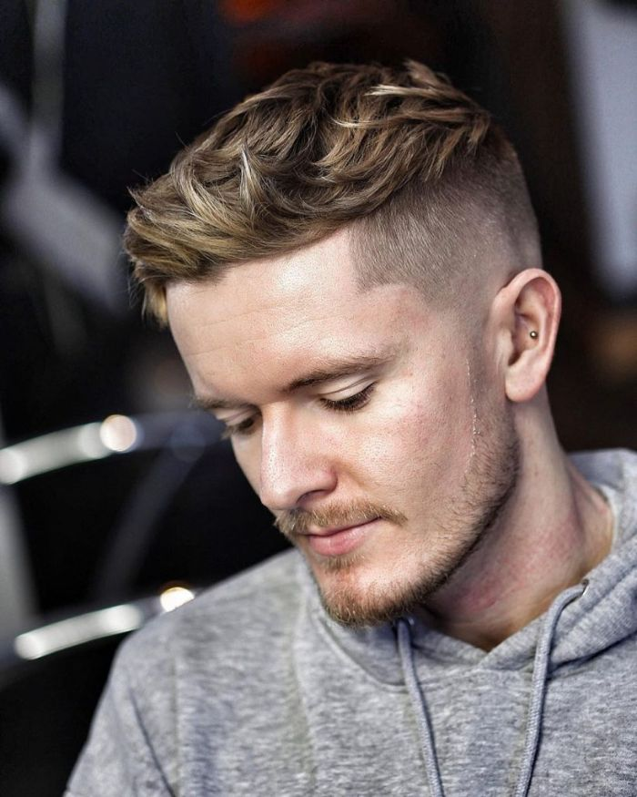 coupe homme dégradé style peaky blinders