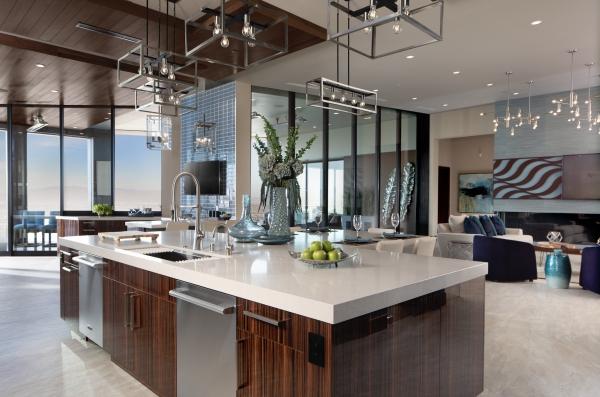cuisine moderne 2020 bois et métal