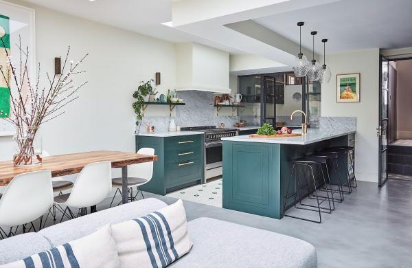 cuisine moderne 2020 dosseret à marbrures