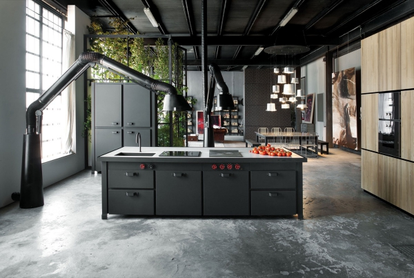 cuisine moderne 2020 style industriel