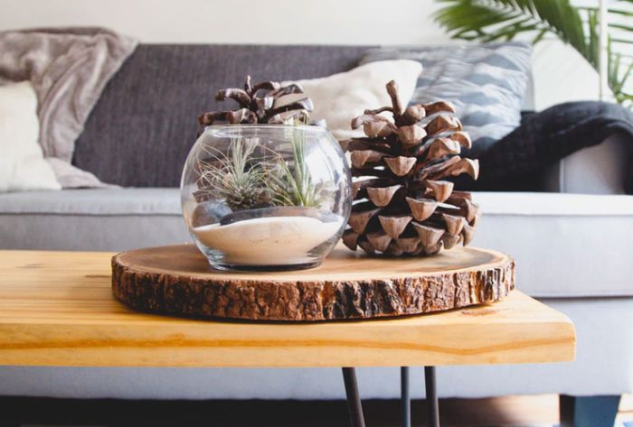 déco rusqtique rondin de bois déco idées inspirantes pour créer une ambiance unique