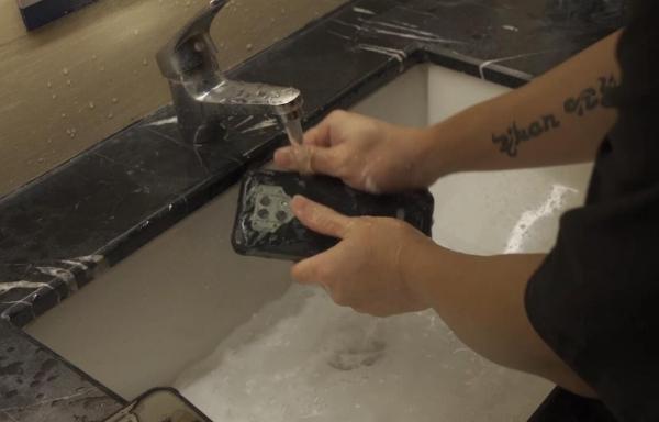 désinfecter un téléphone appareil étanche