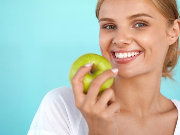 dents saines faire masser les gencives