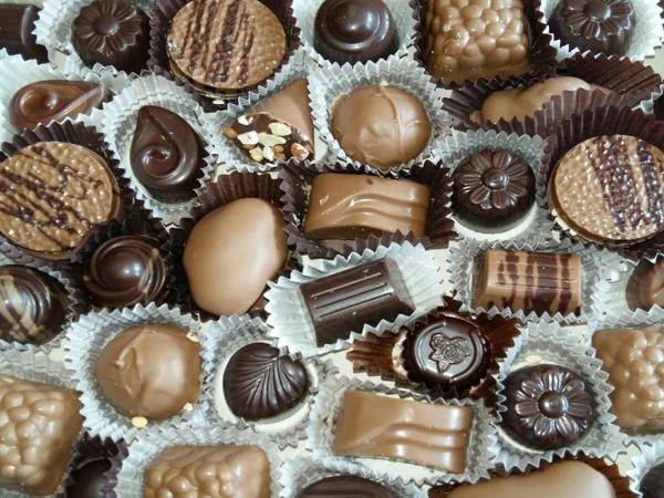 dents saines manger des bonbons
