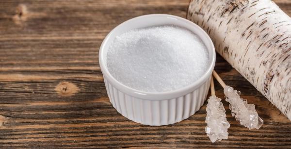 dents saines remplaçant du sucre