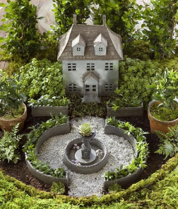 diy jardin de fée de style jardin anglais