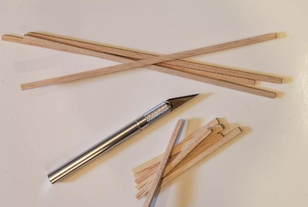 fabriquer un pot de fleurs couteau artisanal