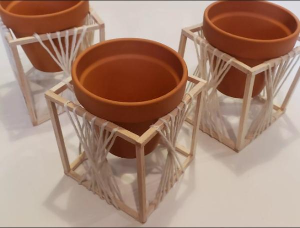 fabriquer un pot de fleurs mettre les pots