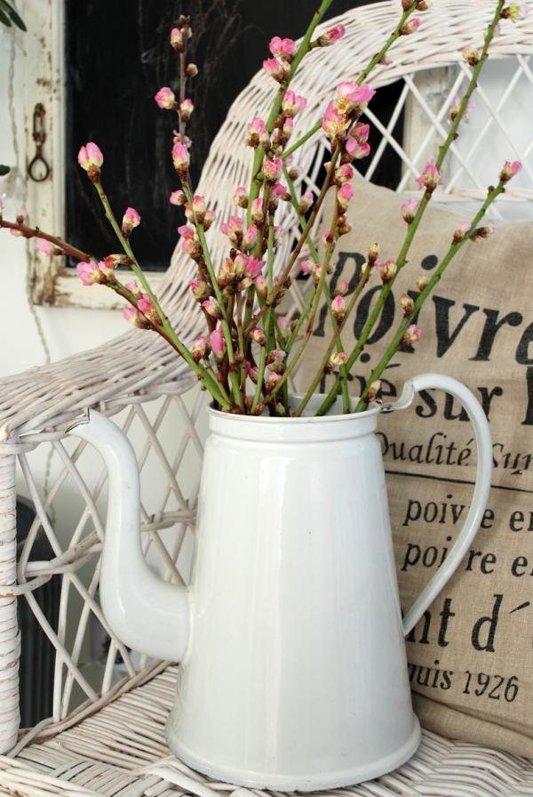 fabriquer un pot de fleurs vieille théière