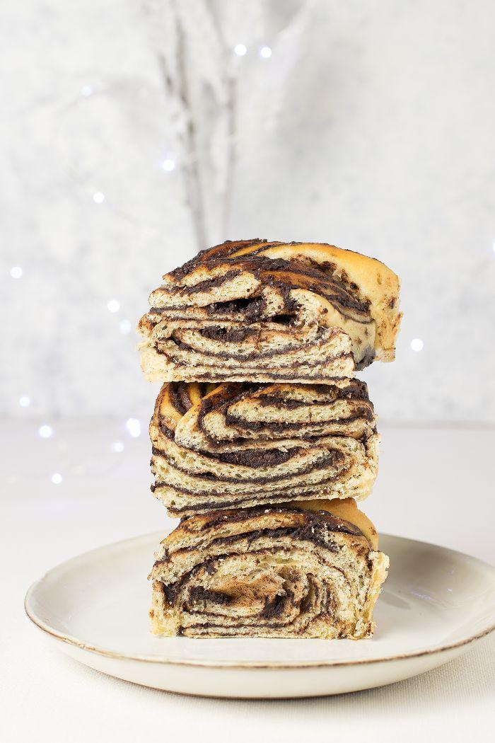 gâteau marbré idée recette babka