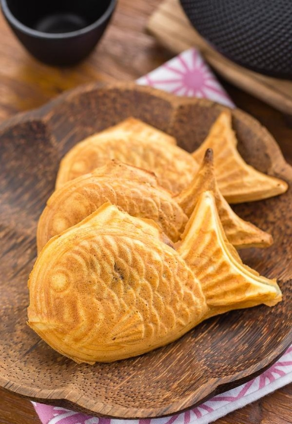 goûter d'origine japonaise taiyaki