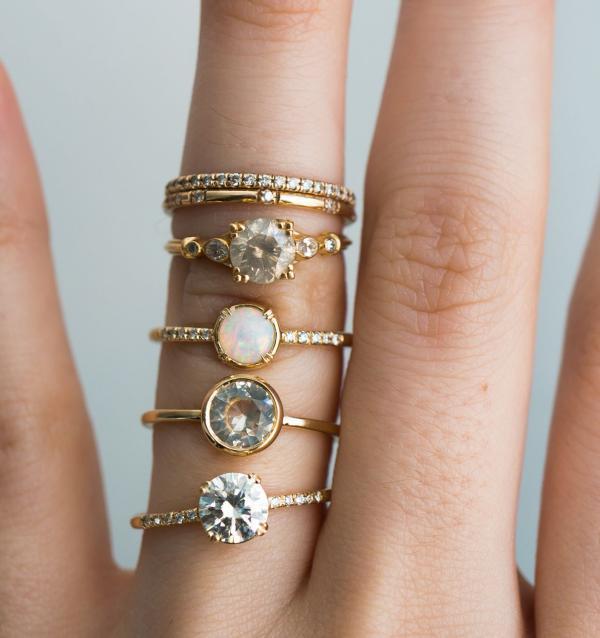 joaillerie éthique tendance bagues de fiançailles S.Kind & Co Jewelry