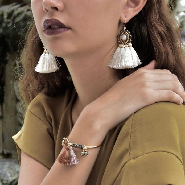 joaillerie éthique tendance boucles d'oreilles et bracelet