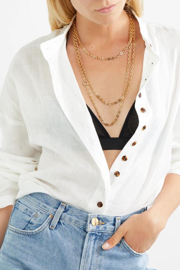 joaillerie éthique tendance collier d'or
