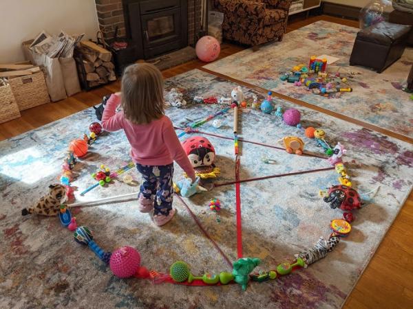 la quarantaine ranger les jouets