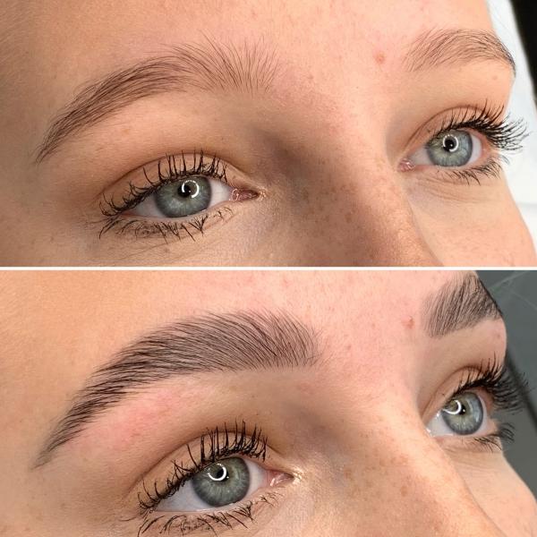 laminage sourcils devenir plus denses