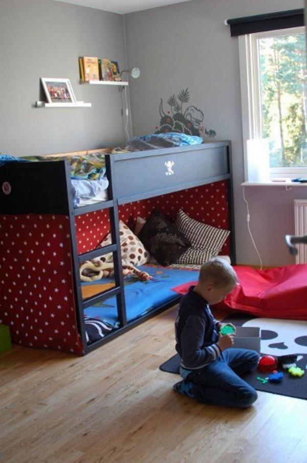 lit enfant mezzanine chambre de garçons