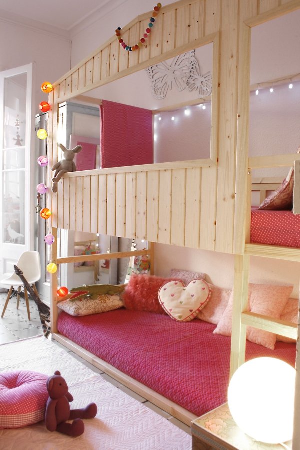 lit enfant mezzanine maison de rêves