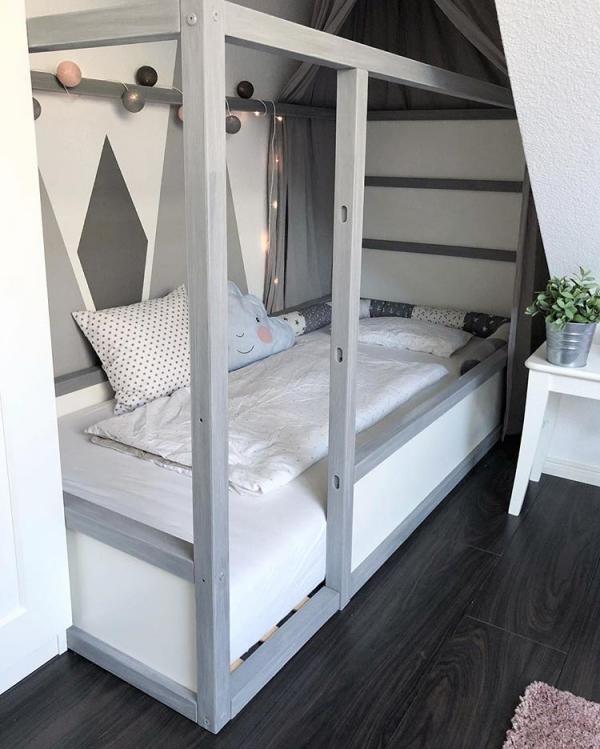 lit enfant mezzanine refonte du lit simple