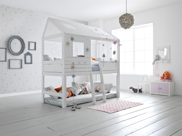 lit enfant mezzanine style scandinave