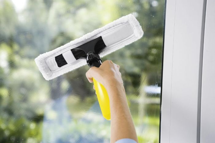 nettoyer les vitres vinaigre blanc désinfectant