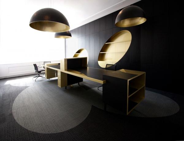 or couleur dans l'intérieur ameublement de bureau
