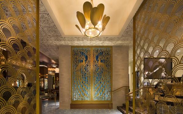 or couleur dans l'intérieur hôtel intérieur