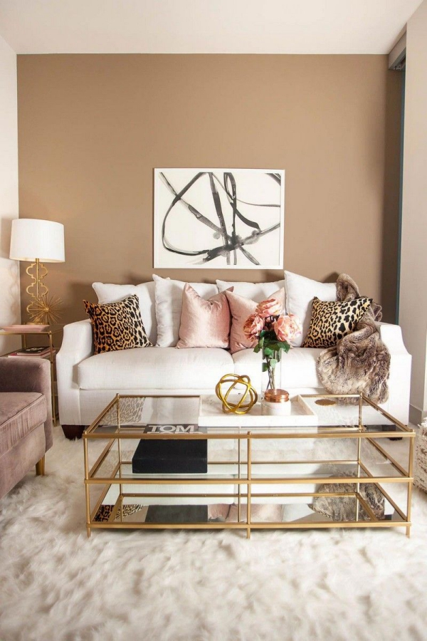or couleur dans l'intérieur un salon exquis