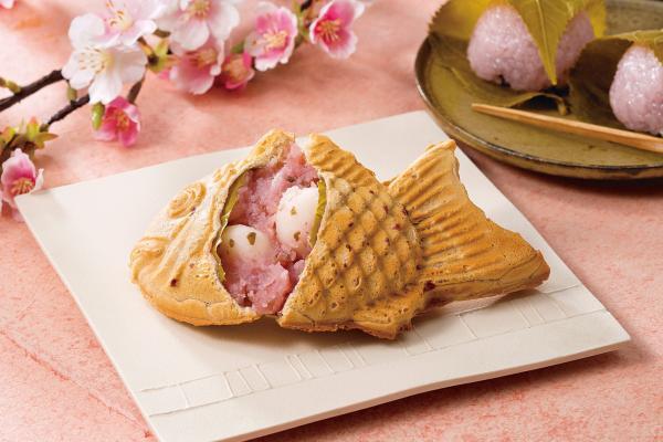 préparer les gaufres japonaises taiyaki garniture crème glacée japonaise