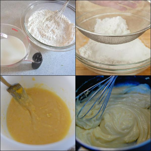 préparer les gaufres japonaises taiyaki pâte à taiyaki