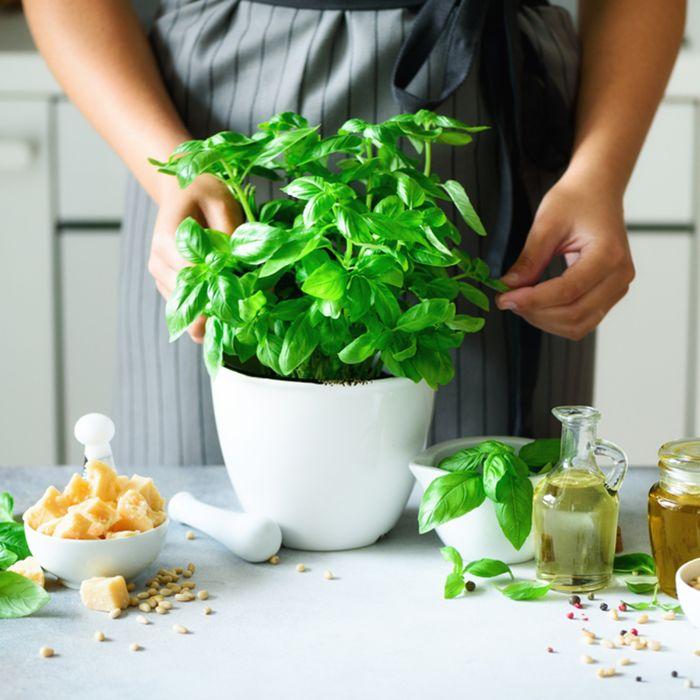 produits frais pour cuisiner faire repousser les légumes