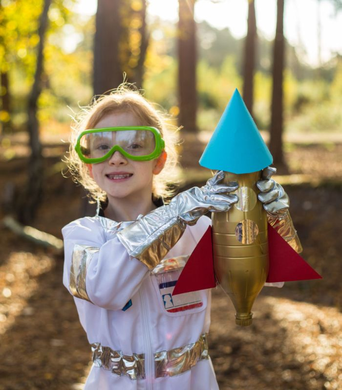 projet diy pour occuper les enfants recyclage bouteille plastique