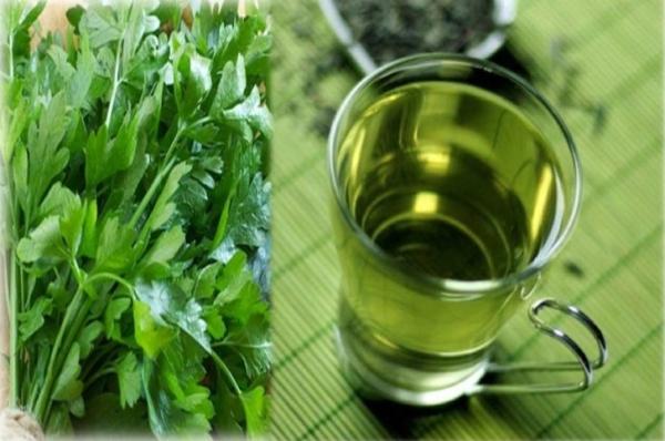 que faire avec du persil thé de persil