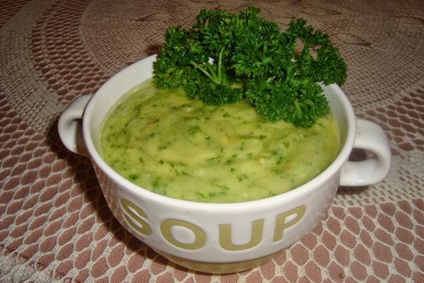 que faire avec du persil une soupe délicieuse