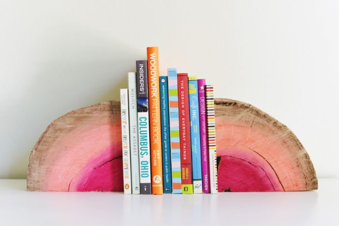 ranger mieux vos livres rondin de bois déco idées inspirantes pour créer une ambiance unique