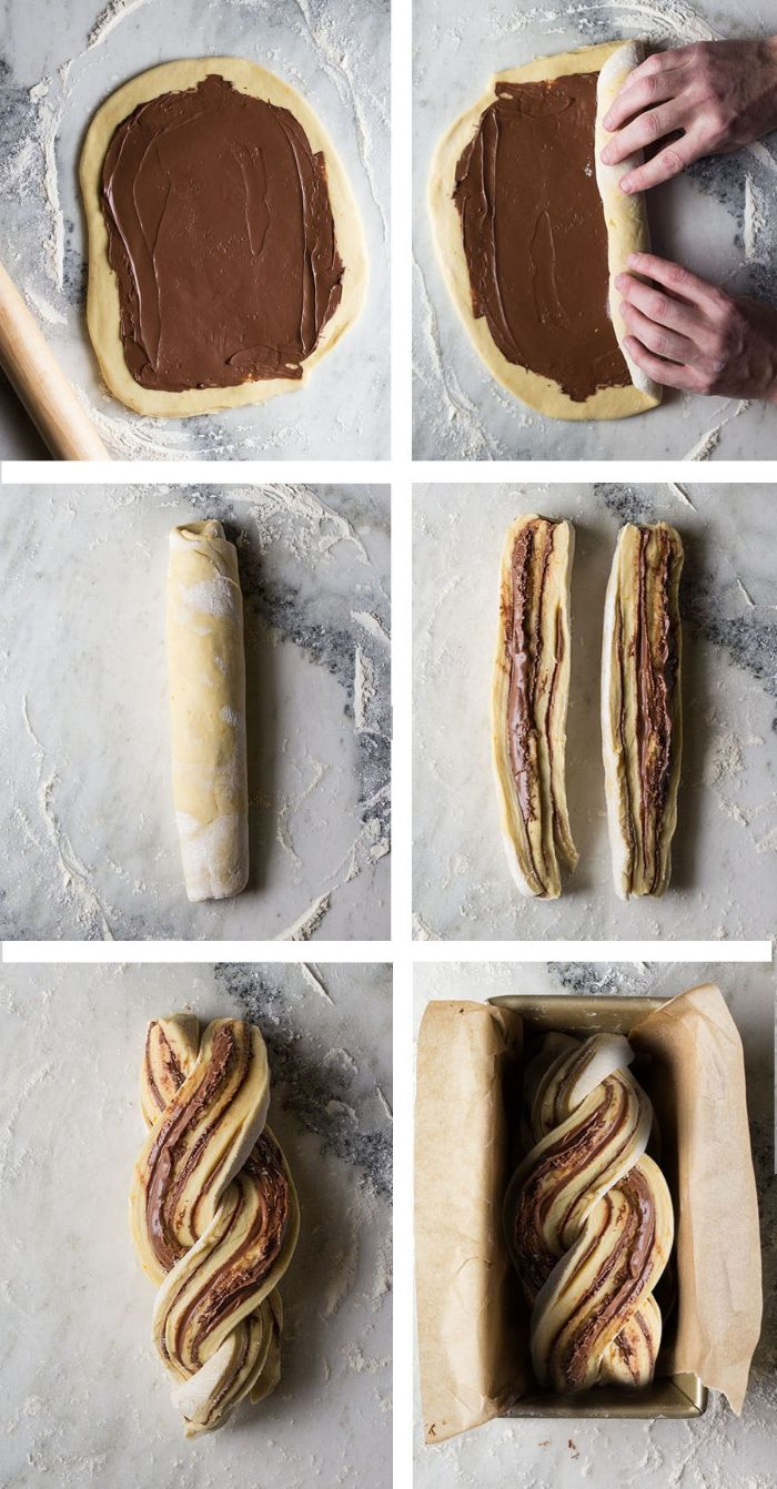 recette babka comment tresser la pâte