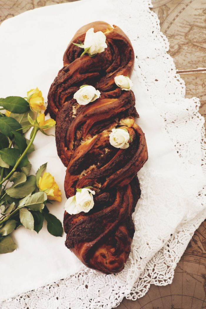 recette babka pour la table festive