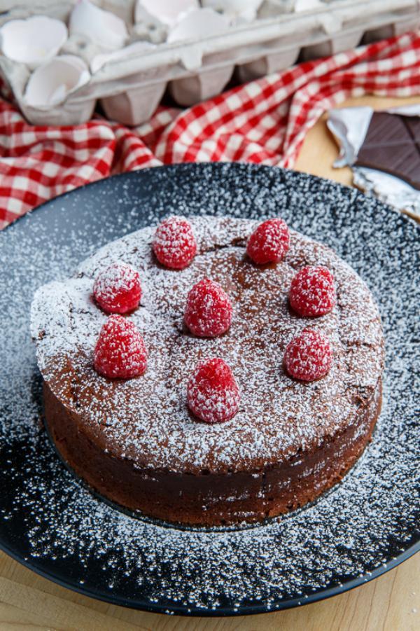 recette cheesecake japonais au chocolat brun
