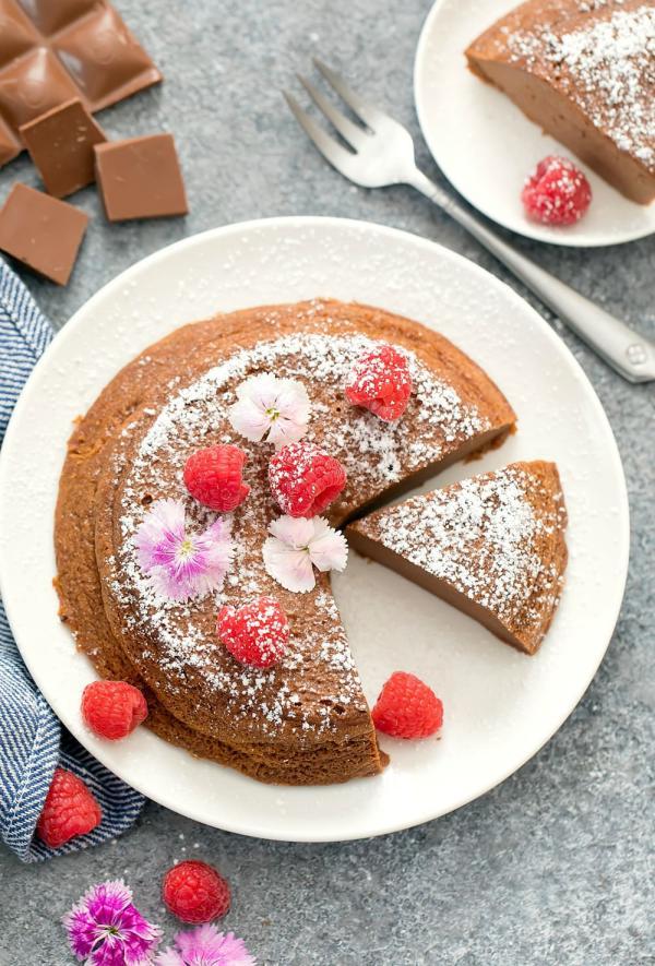 recette cheesecake japonais au chocolat